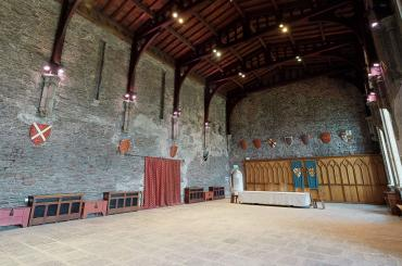 Caerphilly Great Hall 3d walkaround still