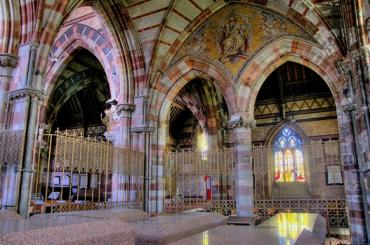Interior image of St Margarets Church Roath