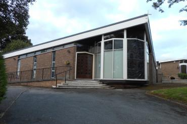 exterior image of St Joseph's Catholic Church, Denbigh
