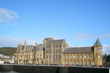 exterior image of The Old College Aberystwyth