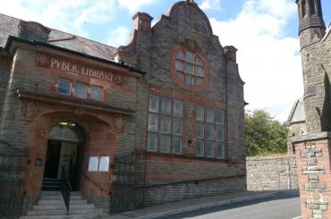 outside image of Dowlais Library