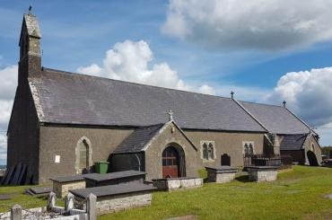 exterior image of St Peter's, Newborough