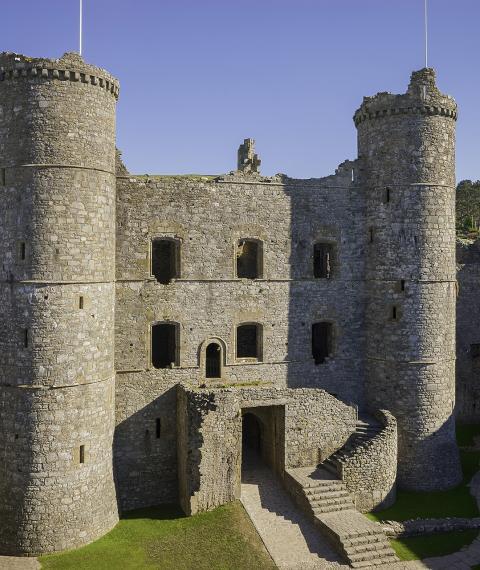 Harlech Castle | Cadw
